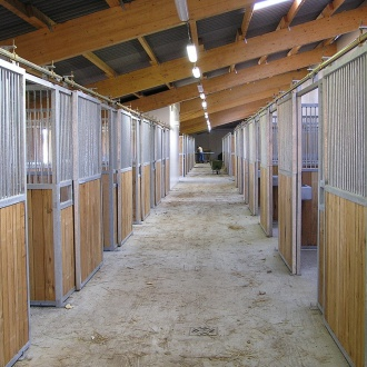 Stables for horses